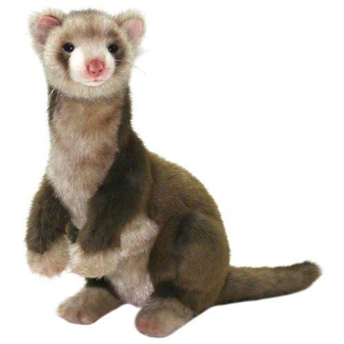 Купить Мягкая игрушка Hansa Хорек коричневый 32 см, Мягкие игрушки