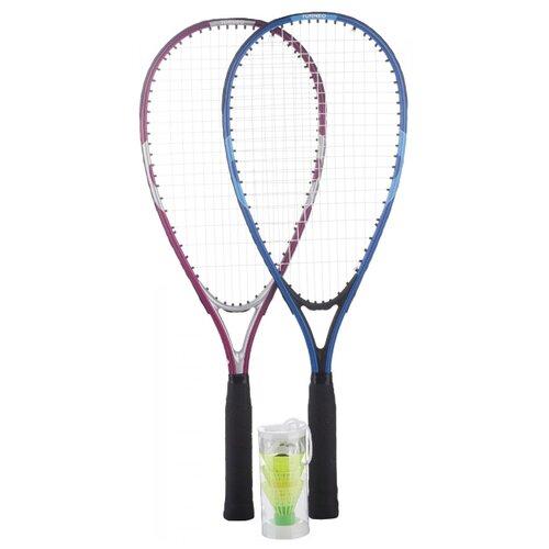 Фото - Набор для кроссминтона с 2 ракетками Torneo RSS-1500 синий/розовый torneo турник torneo 3 в 1