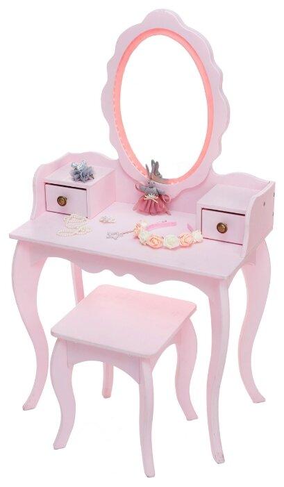 Туалетный столик SunnyWoods для девочек Принцесса Анна с подсветкой (Anna11214)