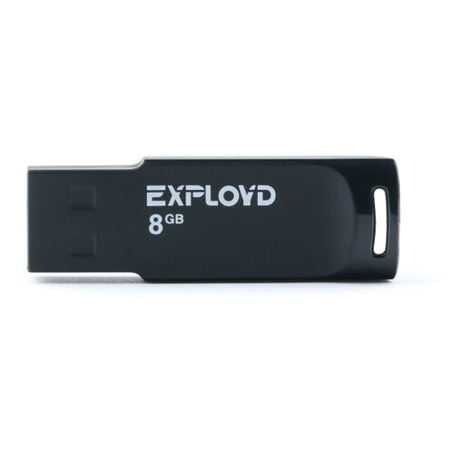 Фото - Флешка EXPLOYD 560 8GB black usb flash drive 8gb exployd 560 red ex 8gb 560 red