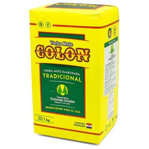 Чай травяной Colon Yerba mate Tradicional, 1 кг чай травяной la merced yerba mate campo