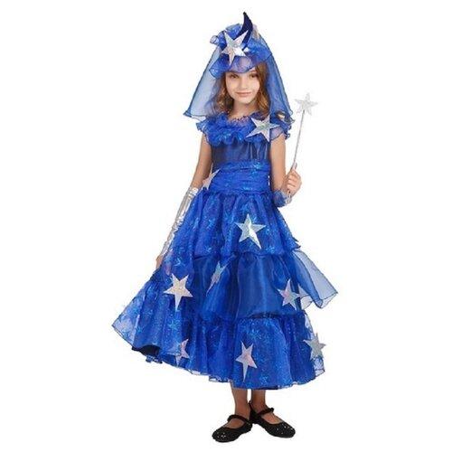 Купить Костюм Elite CLASSIC Фея Звездная, синий, размер 32 (128), Карнавальные костюмы
