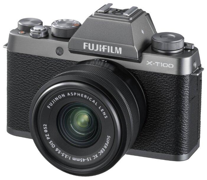 Фотоаппарат Fujifilm X-T100 Kit Dark Silver