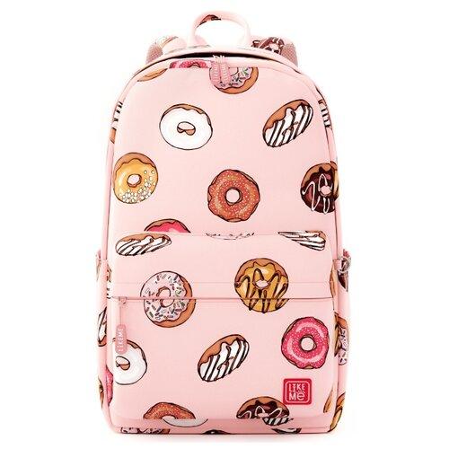 Купить Like Me рюкзак Teens Пончики, розовый, Рюкзаки, ранцы