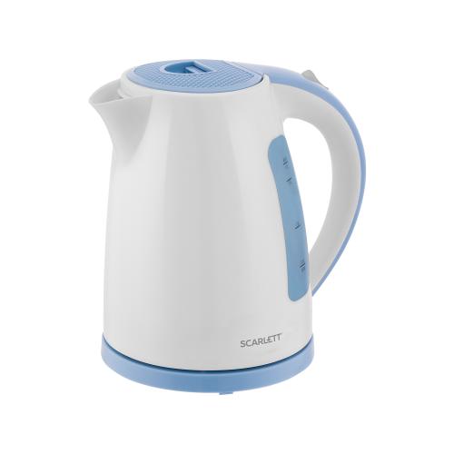 Чайник Scarlett SC-EK18P60, white/blue