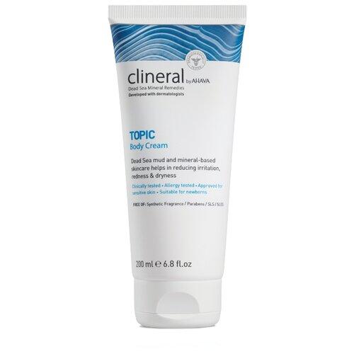 Крем для тела AHAVA Clineral Topic Body Cream, тюбик, 200 мл крем для рук ahava clineral x zem 125 мл
