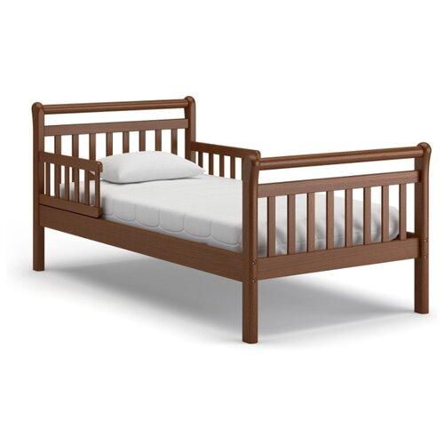 Кровать детская Nuovita Delizia, размер (ДхШ): 176.5х87 см, спальное место (ДхШ): 160х80 см, каркас: массив дерева, цвет: Noce scuro цена 2017