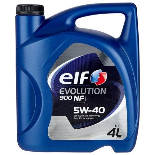 Моторное масло ELF Evolution 900 NF 5W-40 4 л elf масло моторное elf evolution 900 sxr 5w 30 60 л