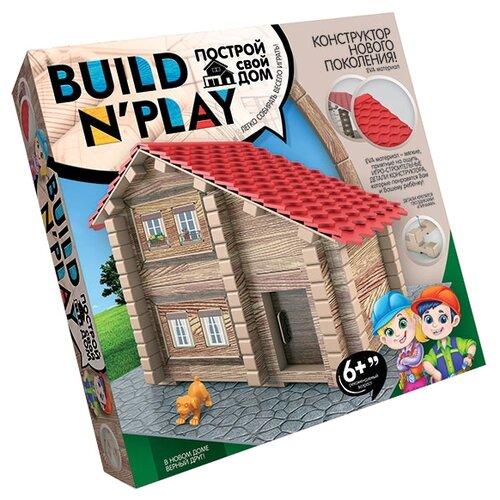 Мягкий конструктор Danko Toys Build n'Play BNP-01-01 Домик