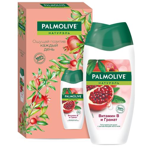 Купить Гель-крем для душа Palmolive Натурэль Витамин В и гранат в подарочной упаковке, 250 мл