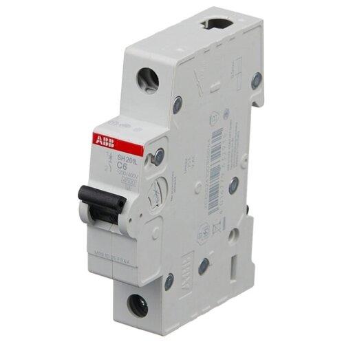 Автоматический выключатель ABB SH201L 1P (C) 4,5kA 20 А автоматический модульный выключатель abb 2п c sh202l 4 5ка 16а 2cds242001r0164