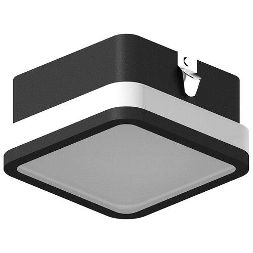 Насадка передняя для корпуса светильника с размером отверстия 70*70mm N7751 SBK/FR черный песок/белый матовый 70*70*H40mm Out15mm MR16