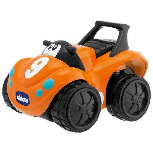 Купить Машинка Chicco Turbo Touch Skipper (00000868000000) 13 см оранжевый, Машинки и техника