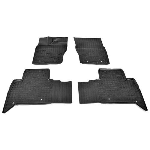 цена на Комплект ковриков NorPlast NPA11-C46-055 Land Rover Discovery 4 шт. черный
