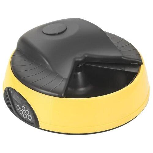 Автокормушка Petwant PF-05A 2 л желтый автоматическая кормушка petwant pf 102 white