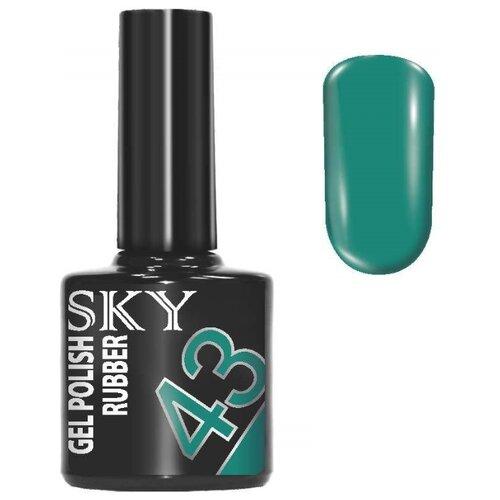 Фото - Гель-лак для ногтей SKY Gel Polish Rubber, 10 мл, 43 гель лак для ногтей claresa gel polish 5 мл оттенок purple 610