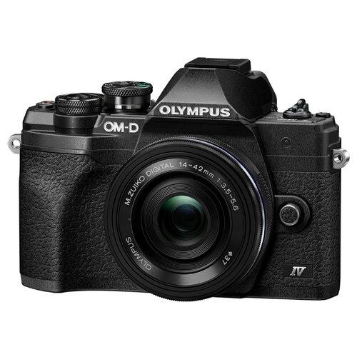 Фотоаппарат Olympus OM-D E-M10 Mark IV Kit черный M.Zuiko Digital ED 14-42mm f/3.5-5.6 EZ