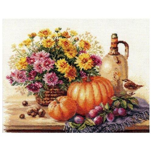 Купить Алиса Набор для вышивания крестиком Натюрморт с тыквой 38 х 28 см (5-15), Наборы для вышивания