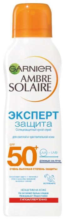 GARNIER Ambre Solaire солнцезащитный сухой спрей