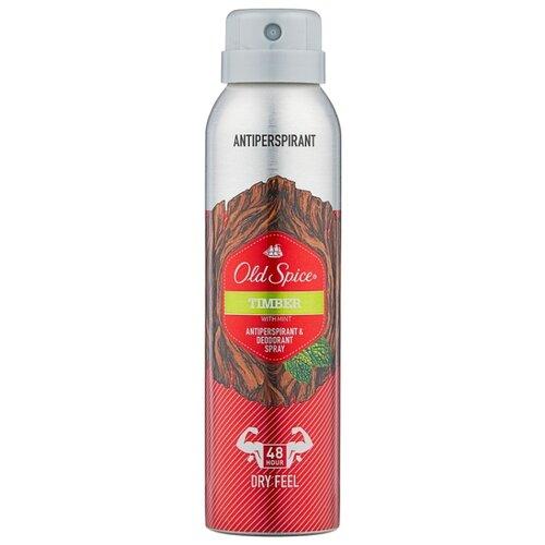 Дезодорант-антиперспирант спрей Old Spice Timber, 150 мл антиперспирант аэрозольный odor blocker old spice 150 мл