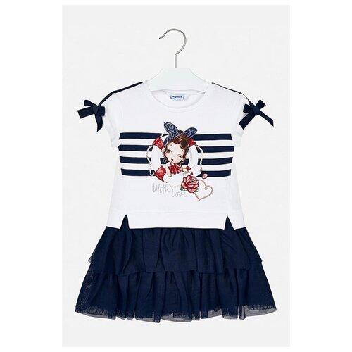 Купить Платье Mayoral размер 134, синий, Платья и сарафаны
