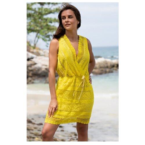 Пляжное платье MIA-AMORE Jamaica 6645 размер L желтый