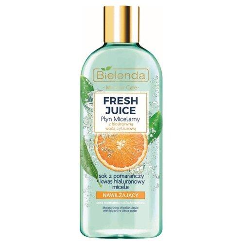 Фото - Bielenda увлажняющая мицеллярная вода с экстрактом апельсина Fresh Juice, 500 мл bielenda bikini кокосовое
