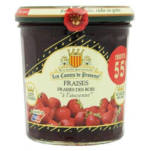цена на Джем Les Comtes de Provence из клубники и земляники, банка 370 г