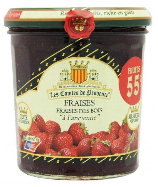 Джем Les Comtes de Provence из клубники