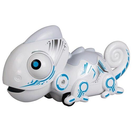 Купить Робот Silverlit YCOO n'Friends Хамелеон белый/голубой, Роботы и трансформеры