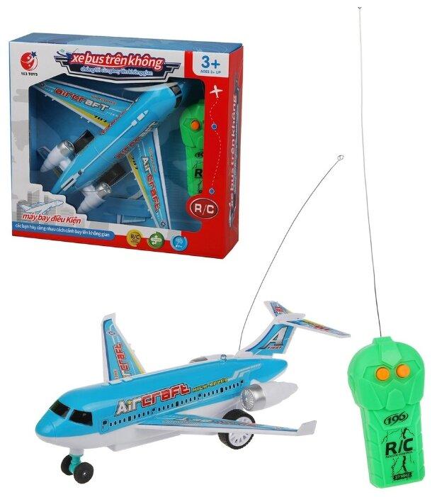 Самолет 163 Toys 163-6688-67 голубой фото 1
