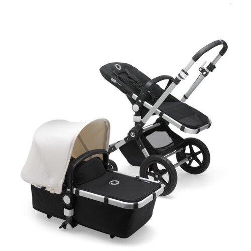 Купить Универсальная коляска Bugaboo Cameleon3 Plus (2 в 1) Alu/Black/Fresh White, цвет шасси: серебристый, Коляски
