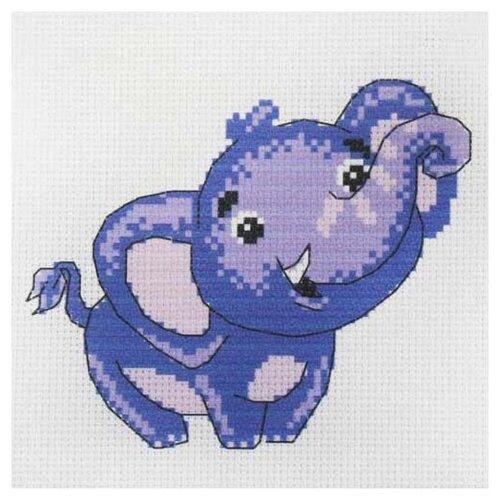 Василиса Набор для вышивания Слоненок 19 х 19 см (209)
