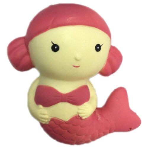 Игрушка-мялка 1 TOY Мммняшка Squishy Русалочка большая бежевый/розовый