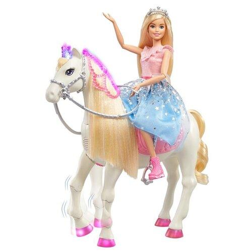 Кукла Barbie Princess Adventure на лошади, GML79, Куклы и пупсы  - купить со скидкой