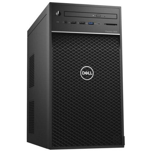 Настольный компьютер DELL Precision (3630-5918) Mini-Tower/Intel Core i5-9500/8 ГБ/256 ГБ SSD/NVIDIA Quadro P1000/Windows 10 Pro черный