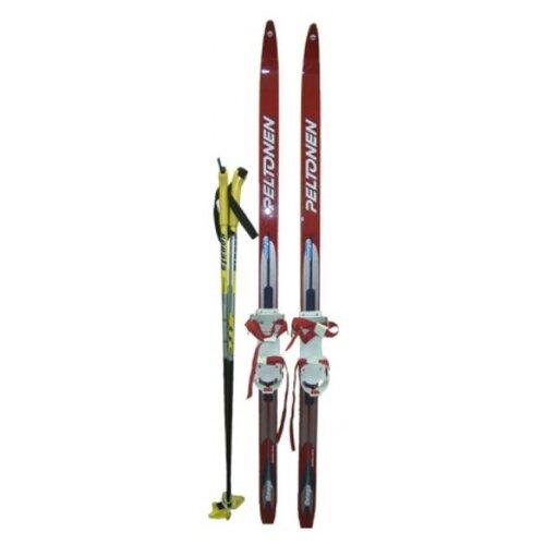 Беговые лыжи STC Pax Combi красный 110 см цена 2017