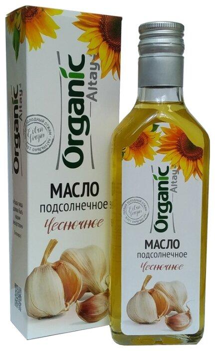 Специалист Масло подсолнечное Чесночное Organic Altay