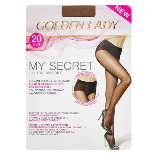 Колготки Golden Lady My Secret 20 den, размер 2-S, daino (бежевый) laurie grant my lady reluctant
