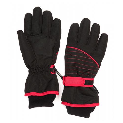 Фото - Перчатки Oldos размер 7-8, черный/красный перчатки женские fabretti цвет черный зеленый 12 66 1 15 black green размер 7 5