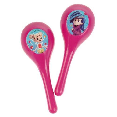 Купить Играем вместе маракас Фееринки 1912M259-R1 фиолетовый, Детские музыкальные инструменты