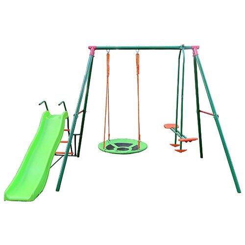 Купить Спортивно-игровой комплекс DFC RGN-03 зеленый, Игровые и спортивные комплексы и горки