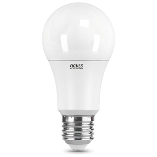 Лампа светодиодная gauss 23220, E27, A60, 10Вт лампа светодиодная gauss 23219 e27 a60 20вт