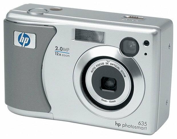 Фотоаппарат HP PhotoSmart 635