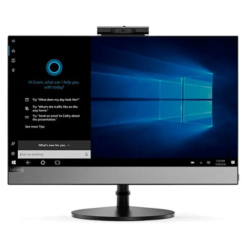 Фото - Моноблок Lenovo AIO V530-24ICB 10UW00DPRU Intel Core i5-9400T/4 ГБ/SSD/Intel UHD Graphics 630/23.8/1920x1080/DVD-RW/Windows 10 Professional 64 моноблок lenovo v530 22icb 21 5 intel core i5 9400t 8гб 256гб ssd intel uhd graphics 630 dvd rw windows 10 professional черный [10us00j5ru]