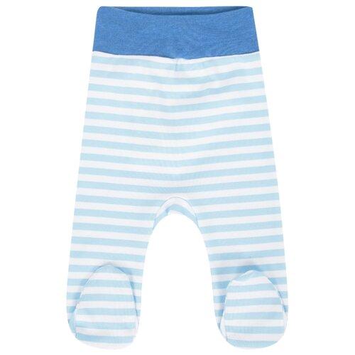 Купить Ползунки Leader Kids размер 56, белый/голубой