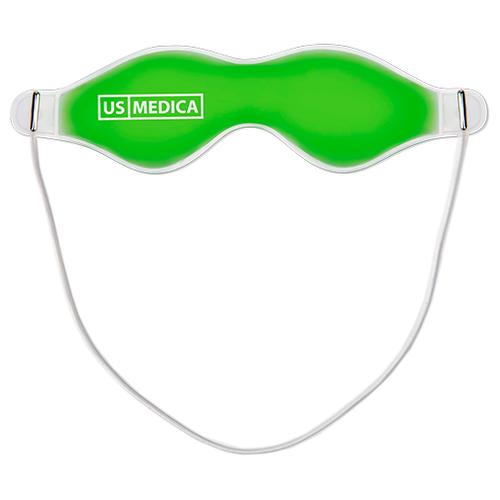 Маска для глаз US Medica New Look зеленый