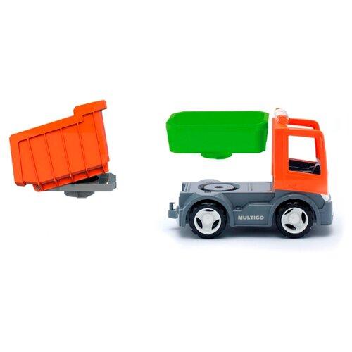 Грузовик Efko 37051EF-CH 22 см оранжевый/зеленый/серый недорого