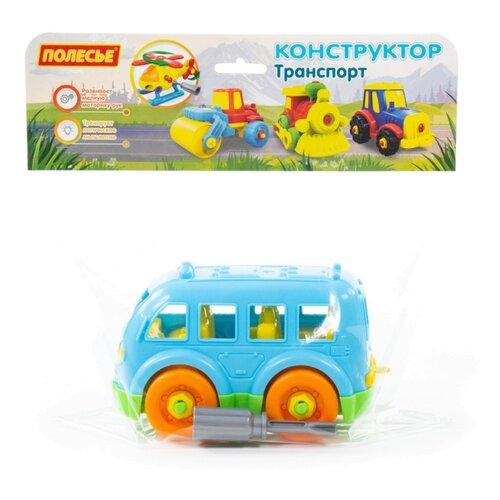 Винтовой конструктор Полесье Транспорт 78995 Автобус малый