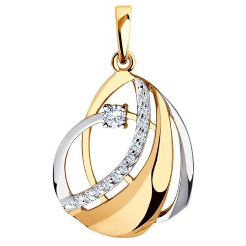 Diamant Подвеска из золота с фианитами 51-130-00519-1